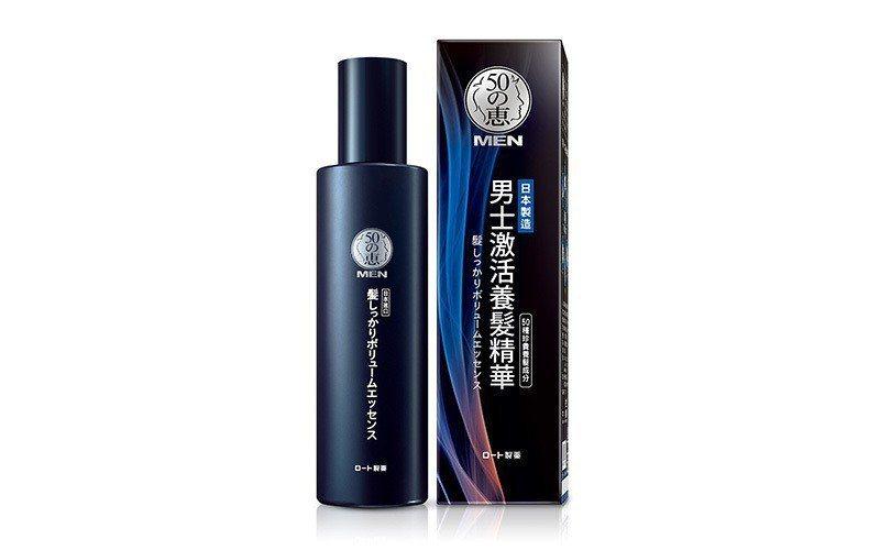 50惠男士激活養髮精華使用起來清爽便利。 圖/50惠男士 提供