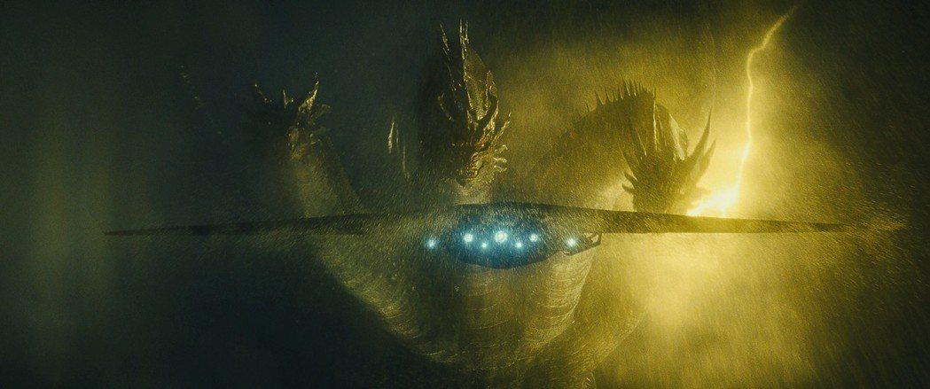 「哥吉拉II 怪獸之王」中的怪獸特效比日本版精緻。圖/美聯社資料照片