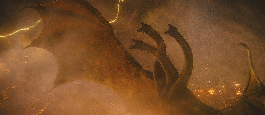 「哥吉拉II 怪獸之王」傳奇巨獸大對戰,滿足粉絲期待。圖/美聯社資料照片