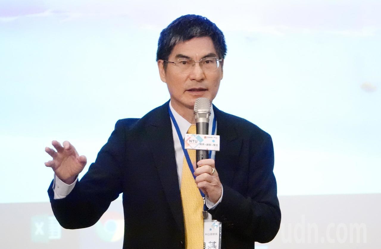 科技部長陳良基。記者杜建重/攝影