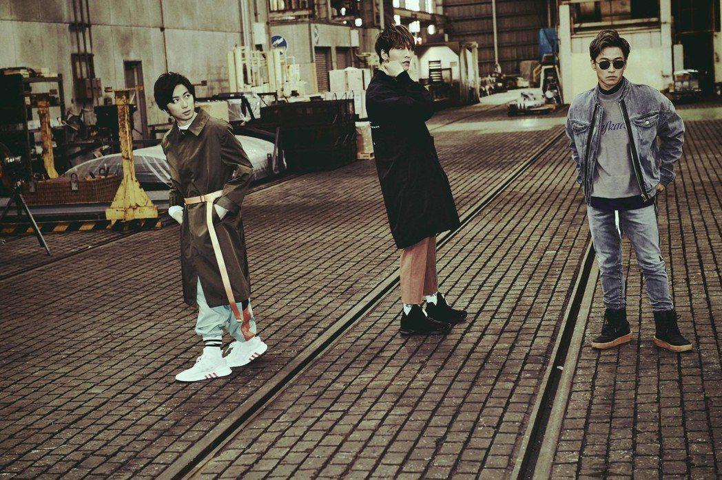 日本團體w-inds.首度來超犀利趴。圖/相信音樂提供
