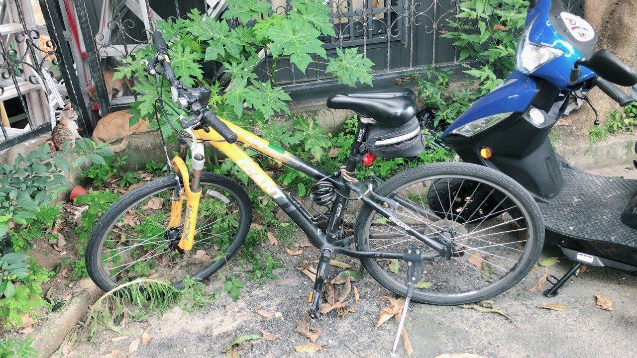 警方循線掌握張男犯案騎乘的單車。記者林佩均/翻攝