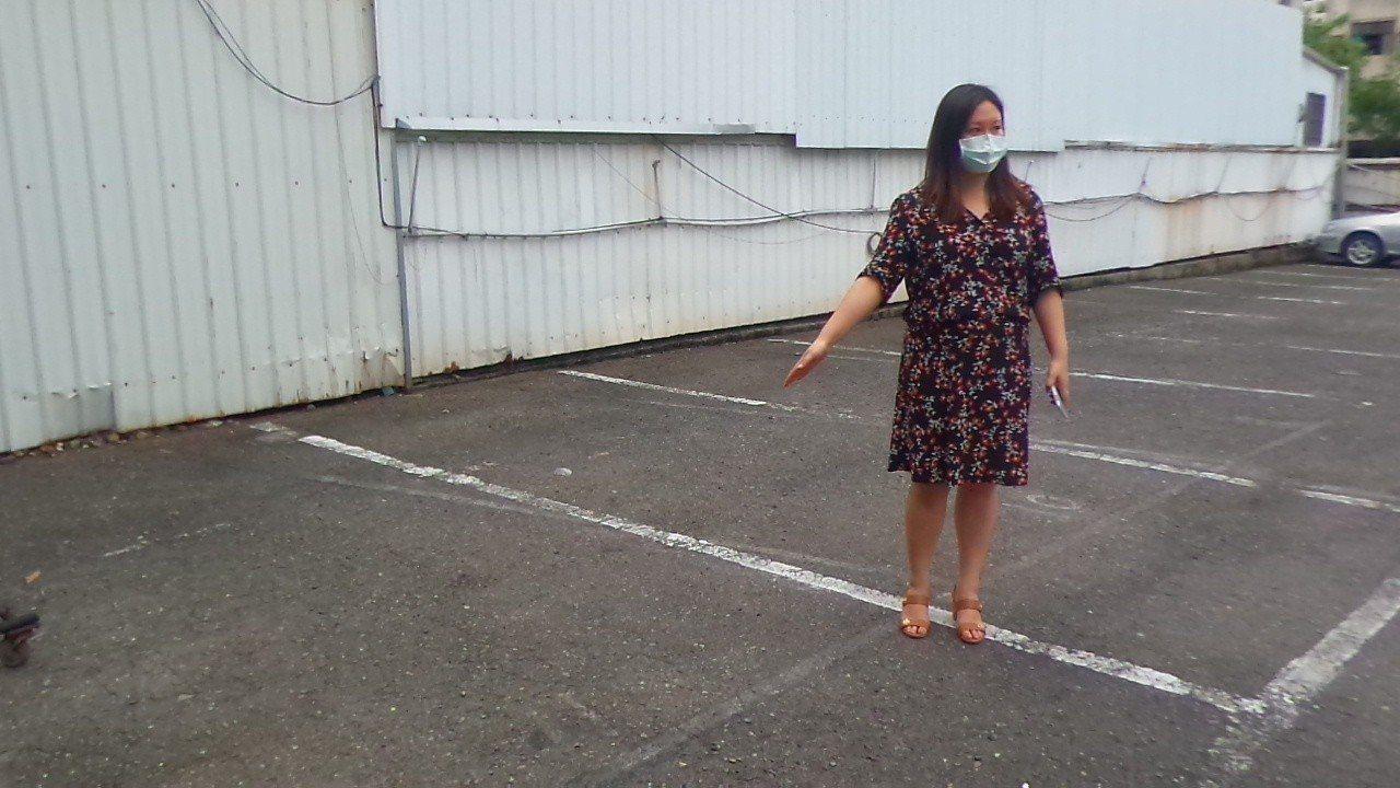 阮綜合醫院副院長妻子今天在住處附近停車場,準備開車到醫院參加社員大會遇襲。圖為阮...