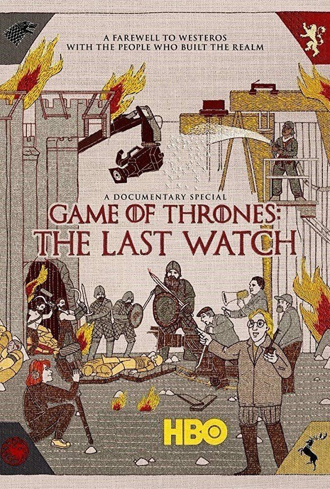「冰與火之歌:權力遊戲:最後的守望」海報備受粉絲激賞。圖/摘自HBO