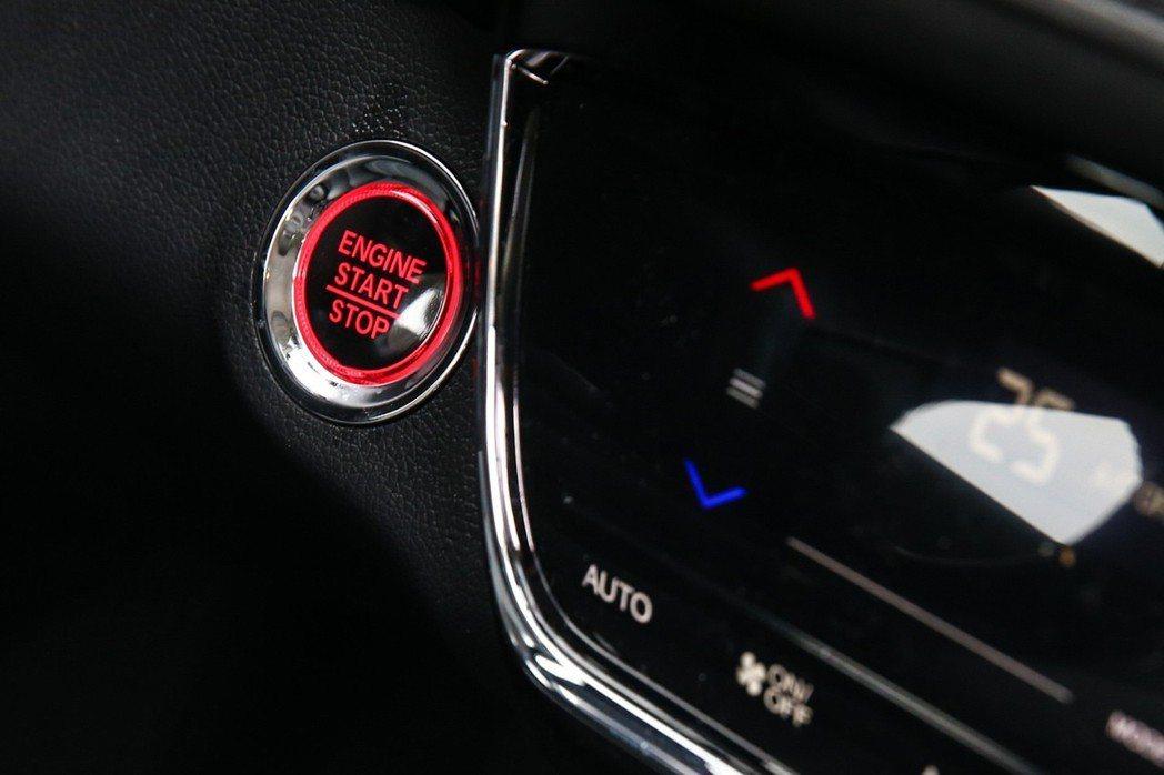 Honda 小改款2019 HR-V。 記者王騰毅/攝影