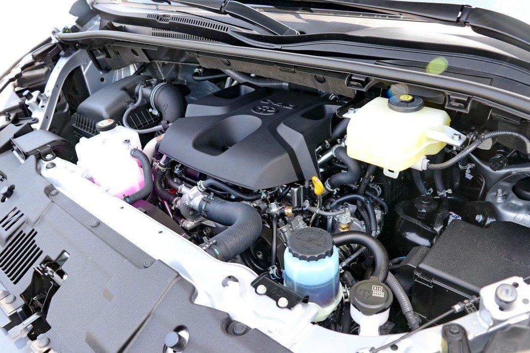 Granvia提供單一柴油引擎動力,搭載1GD 2.8L柴油渦輪增壓引擎。 記者...