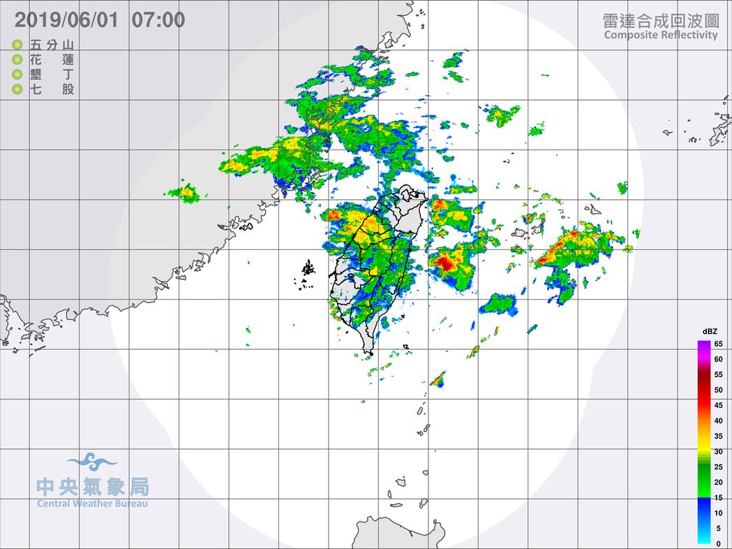 中央氣象局今天5時20分發布特報,指對流雲系發展旺盛,台中、彰化、南投、雲林、嘉...