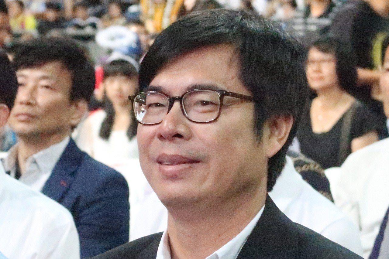 行政院副院長陳其邁出席高雄巨蛋反毒博覽會,指韓市長沒有來非常可惜,許多人會很失望...