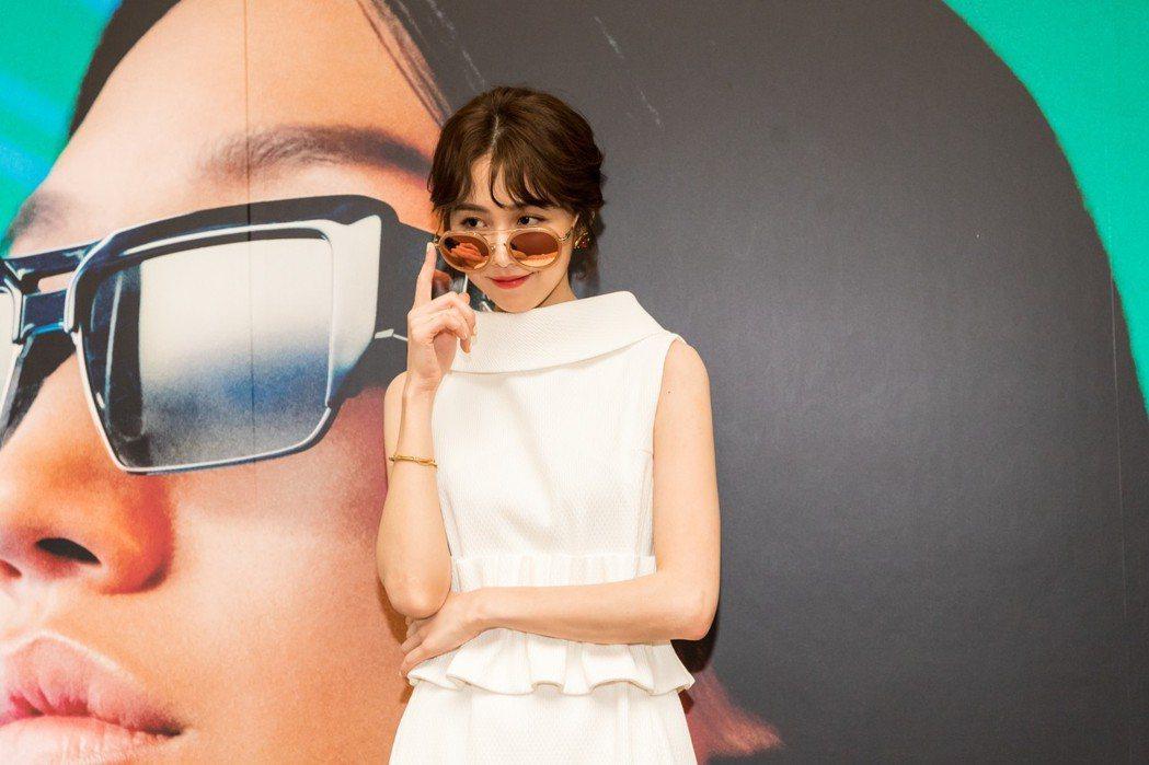 邵雨薇曾因過敏眼疾,開始重視墨鏡的重要。圖/ICU愛視優提供