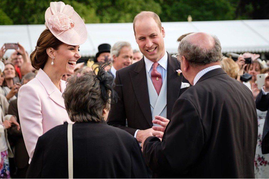 威廉王子與凱特近日出席公開活動,臉上都是笑容,完全看不出婚變。圖/摘自Insta
