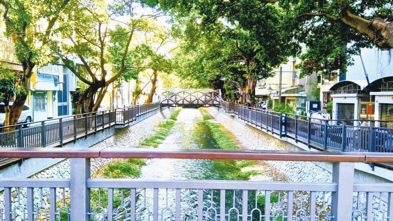 台中綠川水環境改善計畫榮獲「水漾景觀獎」。 圖/台中市水利局提供
