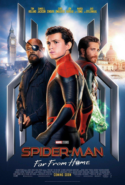 「蜘蛛人:離家日」美國比中國大陸晚上片。圖/摘自索尼影業臉書