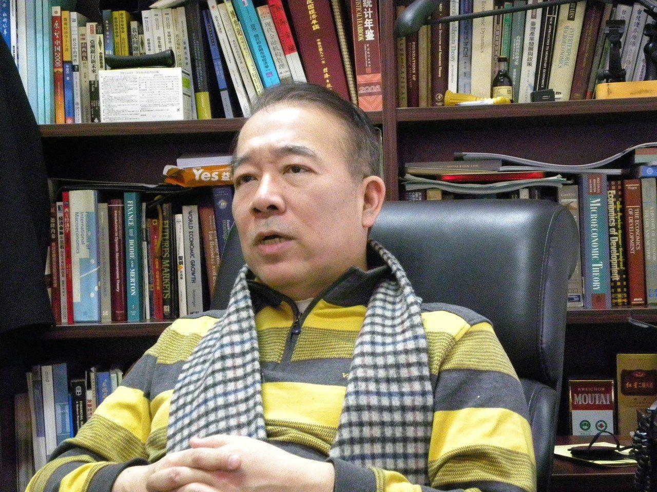 北京大學國家發展研究院教授霍德明。聯合報系資料照片/記者林則宏攝影