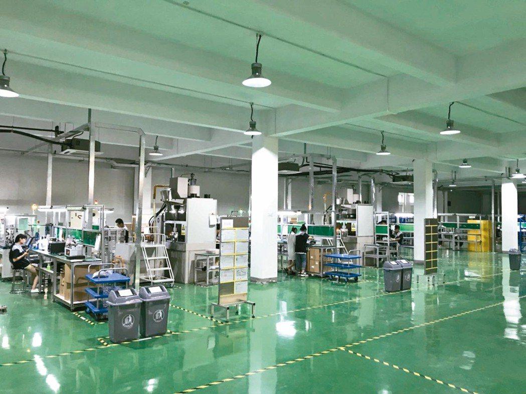 瑪冀電子生產線。 瑪冀電子/提供