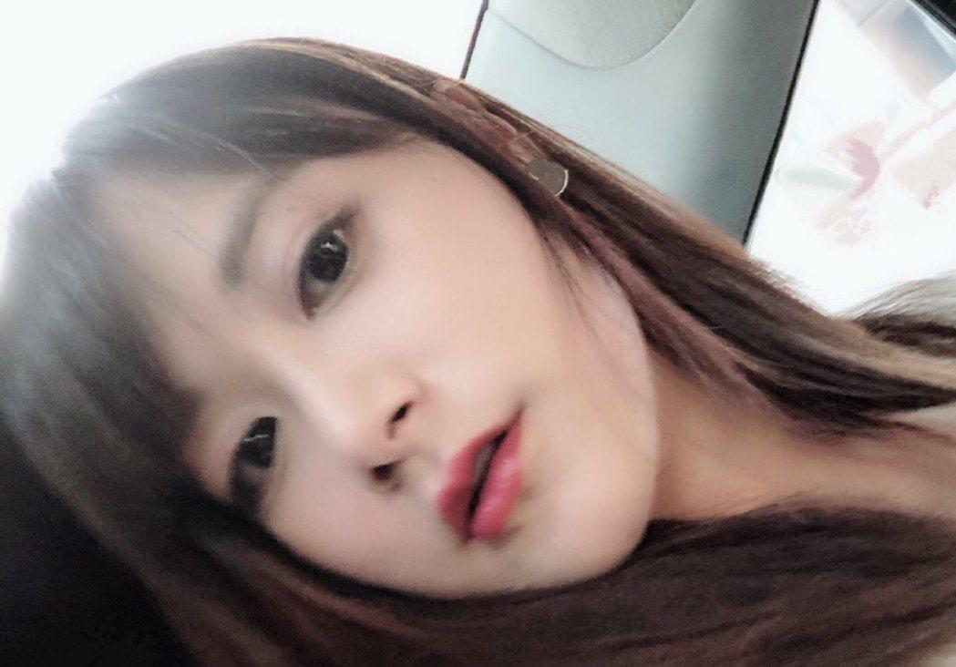 江宏傑的姊姊。 圖/擷自福原愛推特