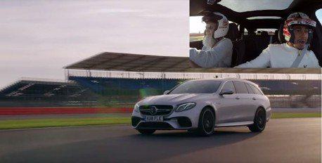 影/開F1跑賽道不稀奇 你有看過世界冠軍搭Mercedes旅行車衝刺嗎?