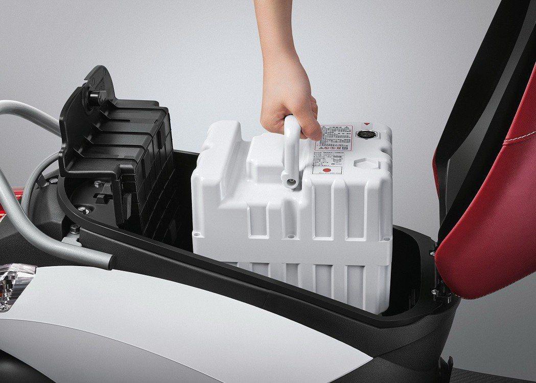 emoving抽取式電池讓充電不受限。 圖/中華汽車提供