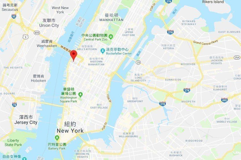 「哈德遜機廠開發案」位於寸土寸金的曼哈頓中城。遊客可以從園區南邊、位於雀爾喜肉品...