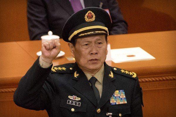 中共國務委員兼國防部長魏鳳和。美聯社