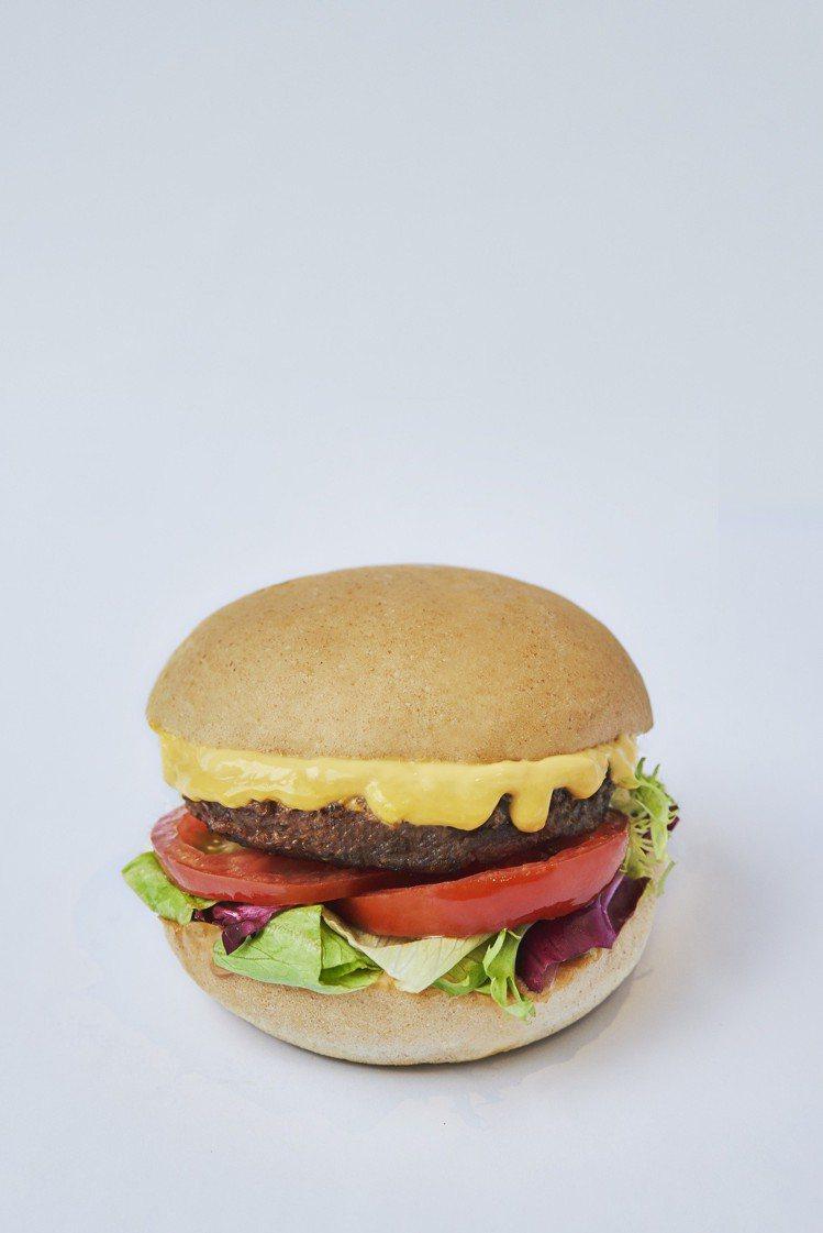 切達起司未來漢堡220元。圖/V Burger提供