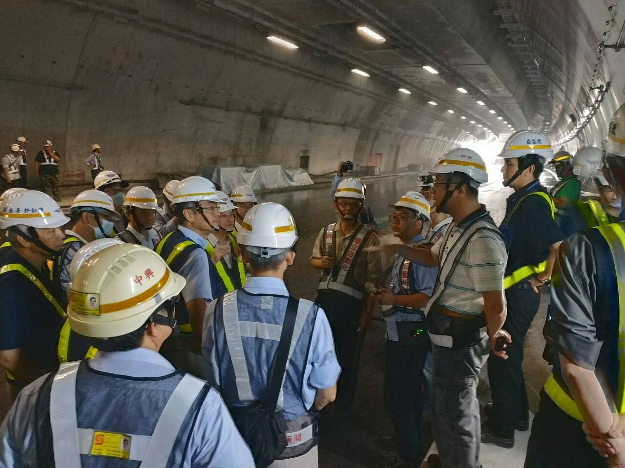 蘇花改工程處今日於「中仁隧道」與「仁水隧道」實施防災演練。圖/蘇花改工程處提供