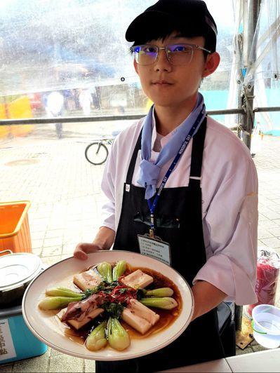 輔大聖心高中的「鎖住幸福滋味」,拿下金牌主廚。 圖/基隆市政府提供
