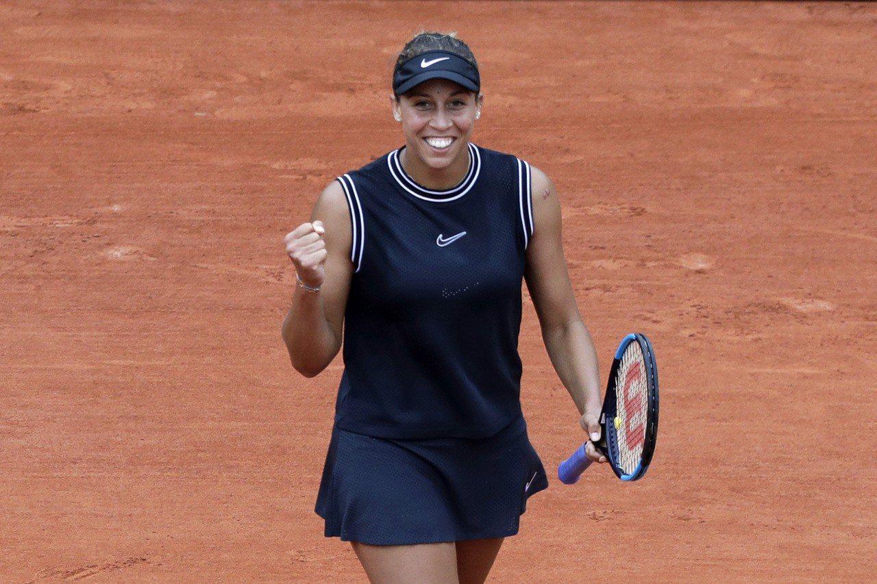 凱絲連兩年闖進法網女單8強。 美聯社
