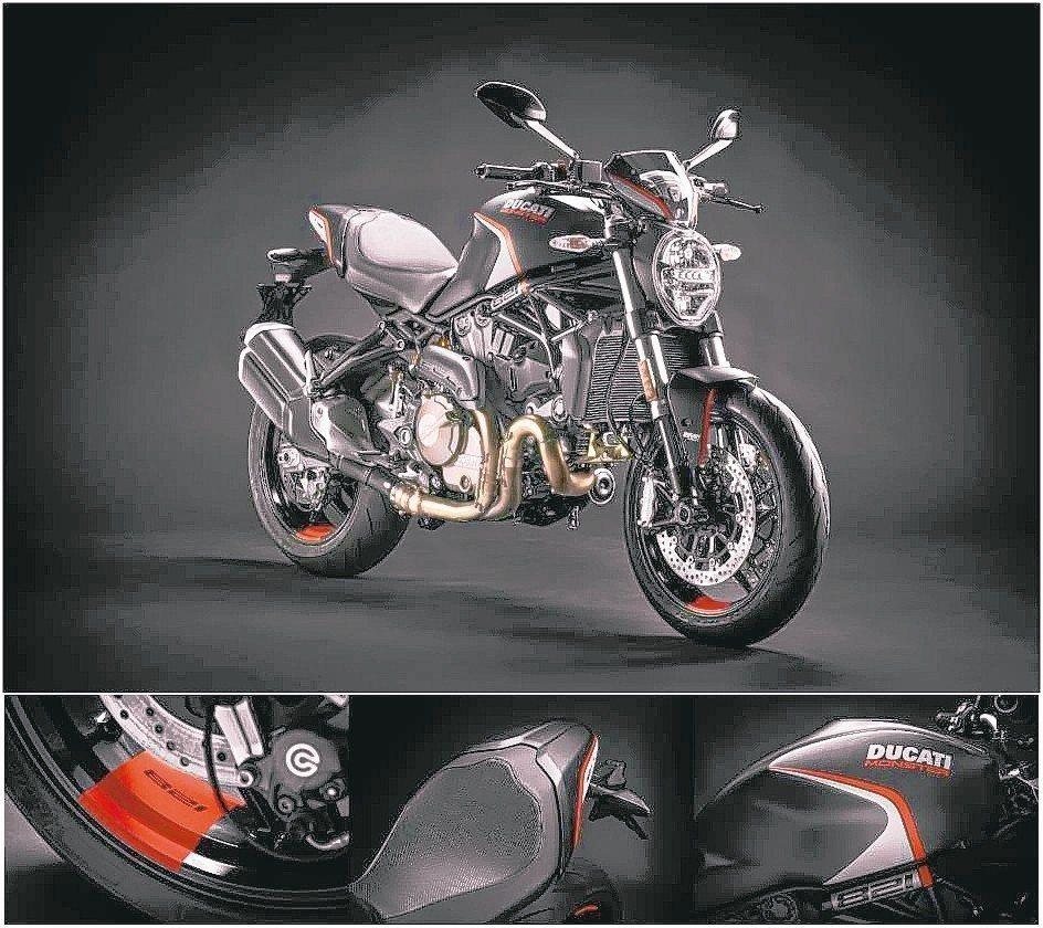Ducati全新Monster 821 stealth條紋版成為重機車友們討論的...