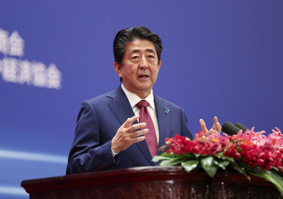 日本首相安倍晉三。 中新社