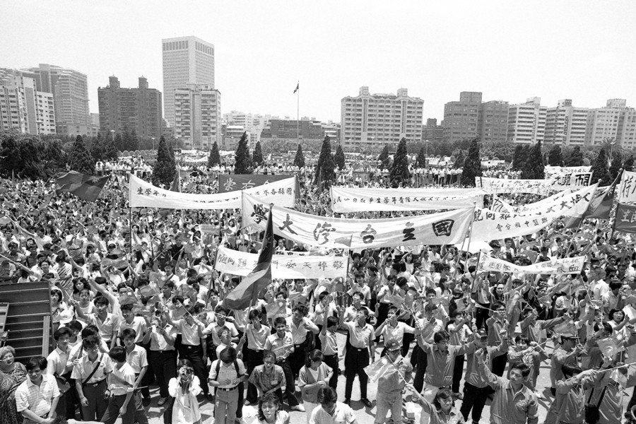 攝於1989年6月5日,國父紀念館。 圖/聯合報系資料照
