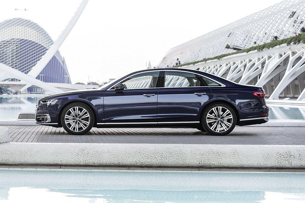 臺灣奧迪正式宣布全新世代Audi A8全車系預售價格自398萬起。 圖/Audi...