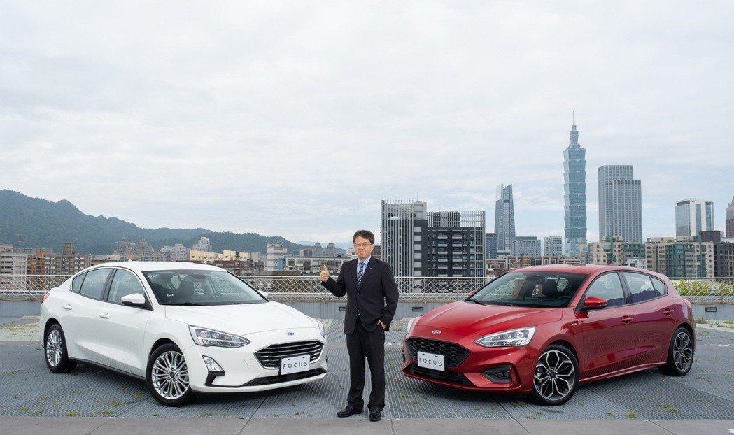 福特六和市場營銷暨顧客服務處副總經理蘇嘉明宣布The All-New Ford ...
