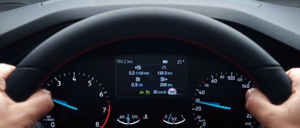 先進智駕科技Ford Co-Pilot360再升級TSR道路標誌識別輔助系統,藉...