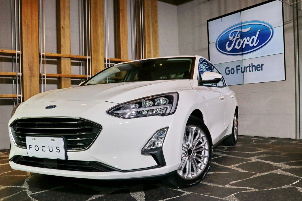 Ford Focus EcoBoost182 17TSR。 記者陳威任/攝影