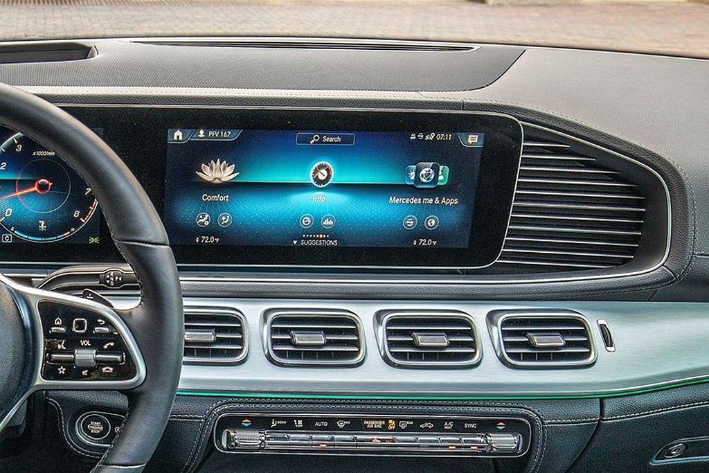 賓士GLE同樣搭載Mercedes me connect互聯帶給車主全新的數位生...