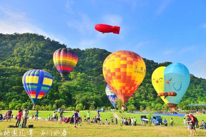 石門水庫熱氣球嘉年華 圖/IG, wcy6572