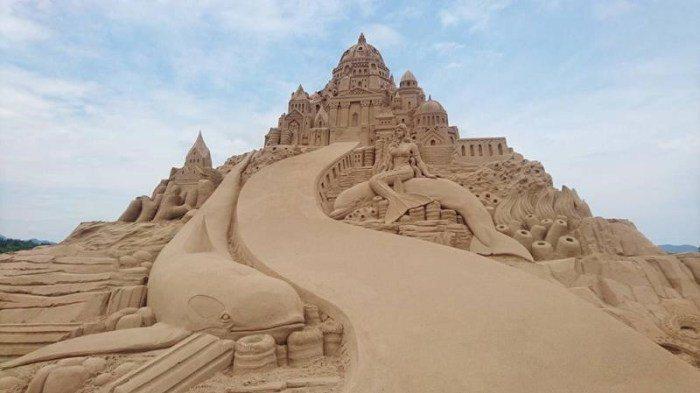 福隆國際沙雕藝術季 圖/交通部觀光局