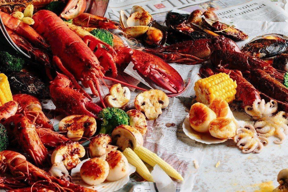 SHELL OUT抓周活動,最大獎龍蝦、紅蟳免費吃。圖/SHELL OUT提供