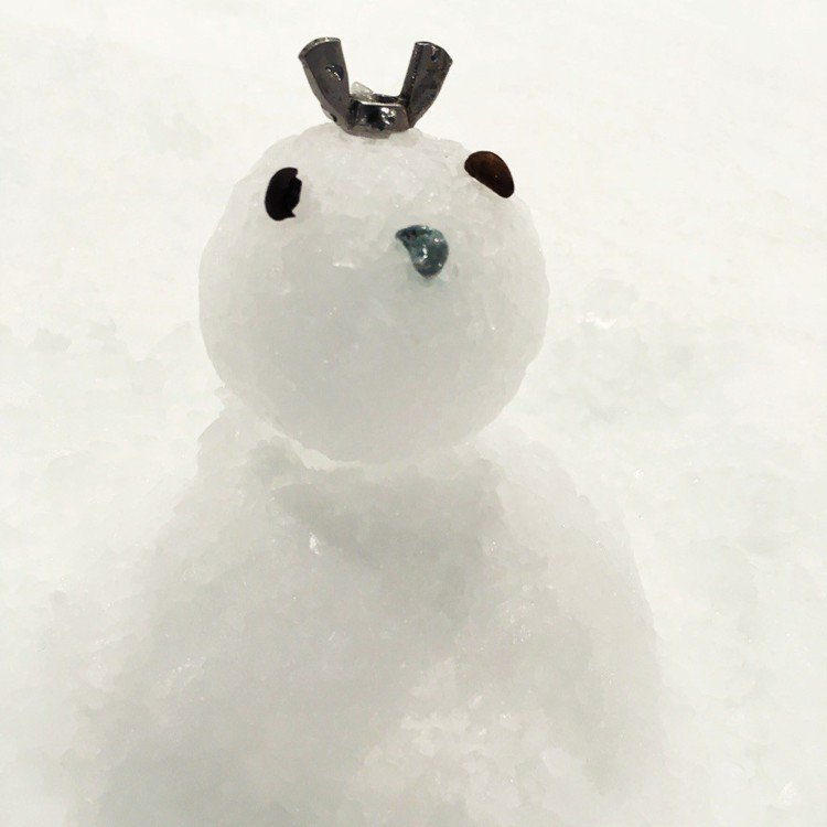 「SNOWTOWN雪樂地」玩堆雪人。圖/威秀提供