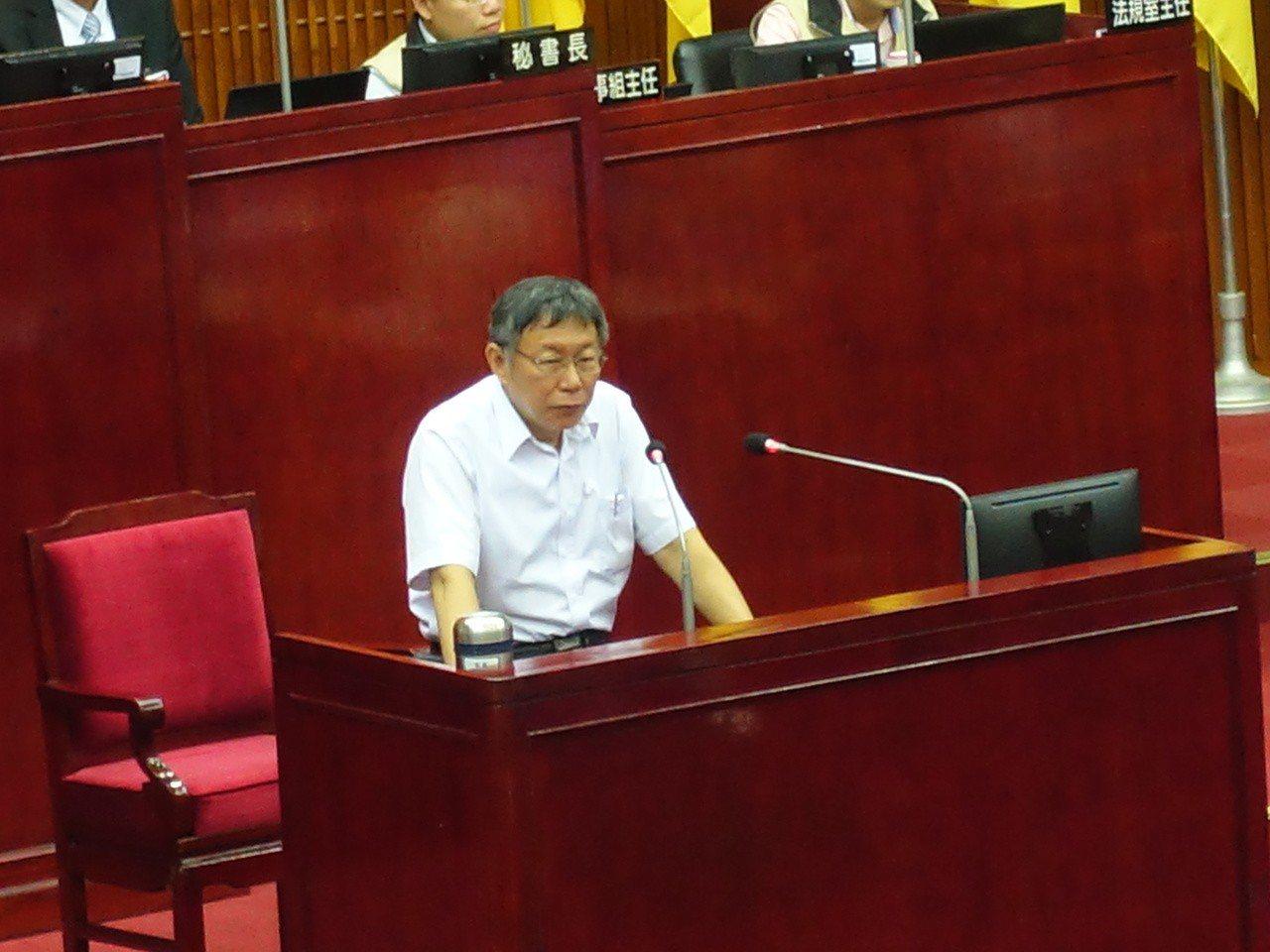 台北市長柯文哲表示,「六四是近代史的悲劇」,怎麼會搞成這樣子,這是魏鳳和的角度,...