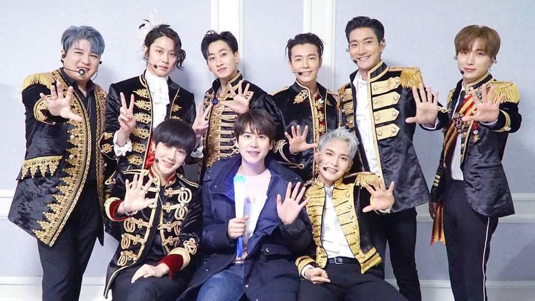 SJ的回歸將以九人為主。圖/摘自臉書