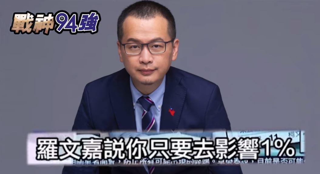 羅智強說國家機器介入初選,賴清德GG了。