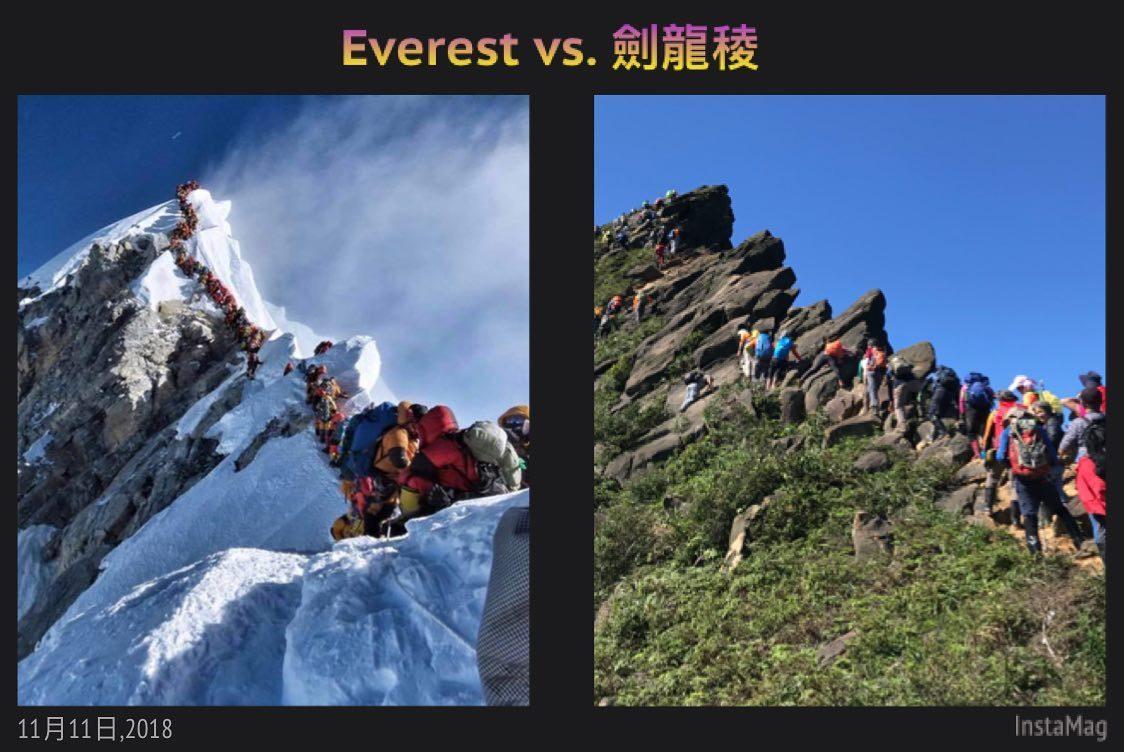 山友Celine Wu最近PO出這張對比照,網友笑說,真的只差雪了,原來他也去過...