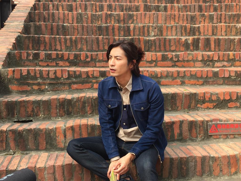福地祐介為「一千個晚安」到台南取景拍攝,當地保存良好的古蹟讓他勾起鄉愁。圖/凱渥...