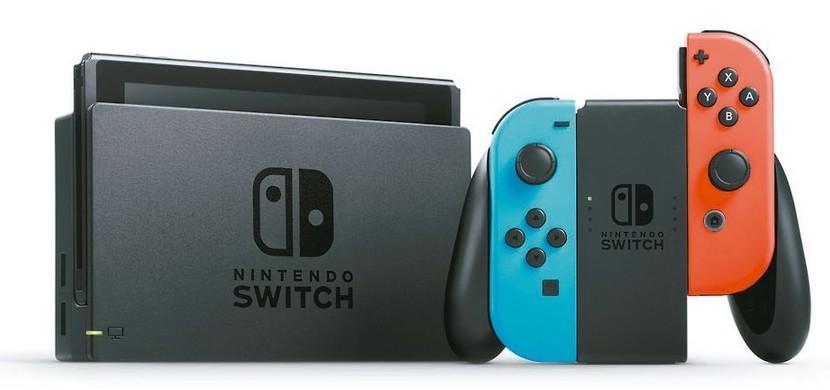 Switch連上電視就是遊戲主機,又兼具能當成掌機使用,成功吸引大量玩家。 圖/...
