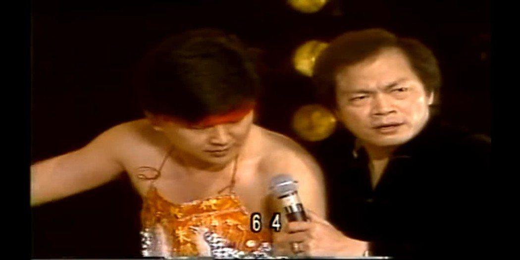 賀一航當年曾在「豬哥亮歌廳秀」扮演乩童,隨口說出的數字成為巧合。 圖/擷自靈異公...
