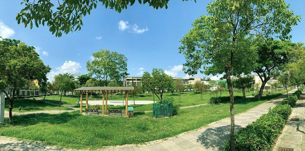 濕地公園。圖片提供/上揚建設