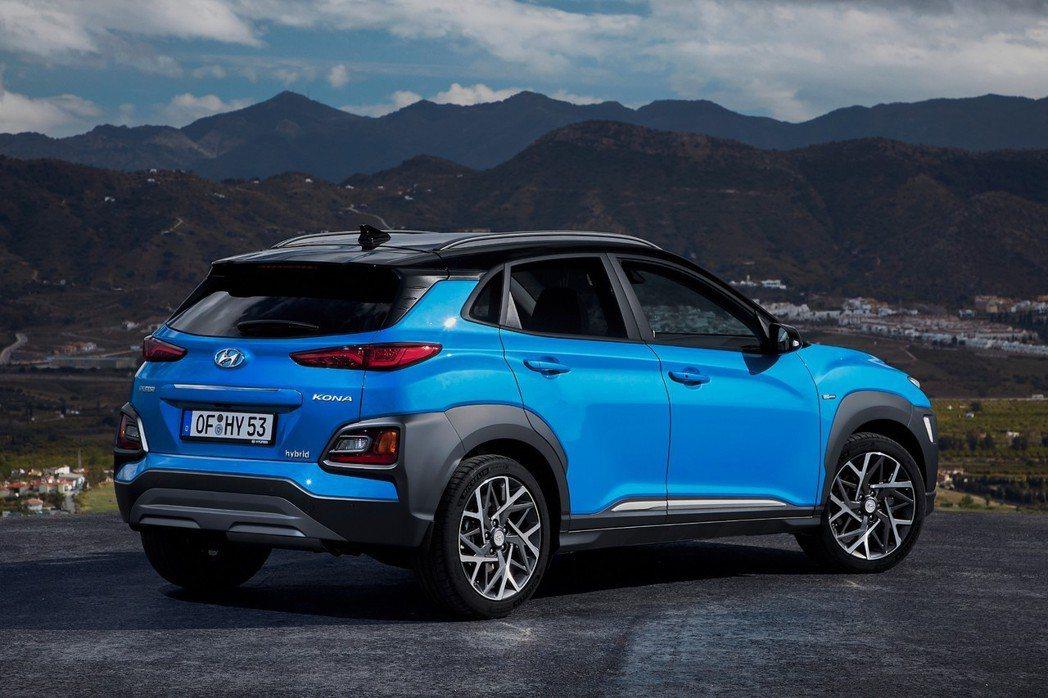 全新Hyundai Kona Hybrid。 摘自Hyundai