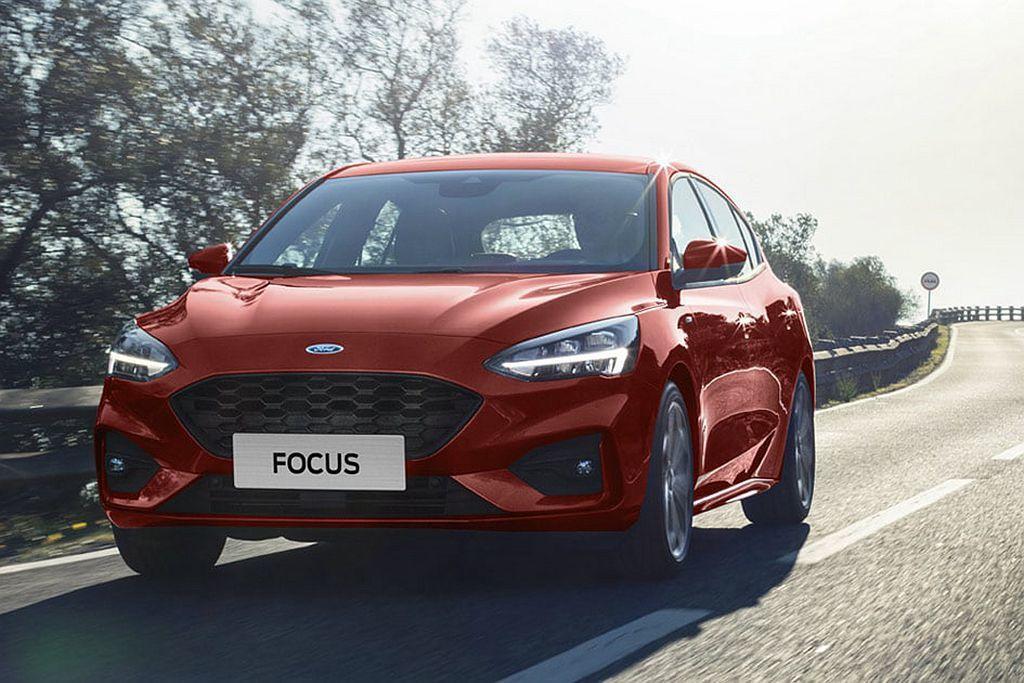臺灣今年導入的全新第四代Ford Focus,頂規車型將Ford Co-Pilo...