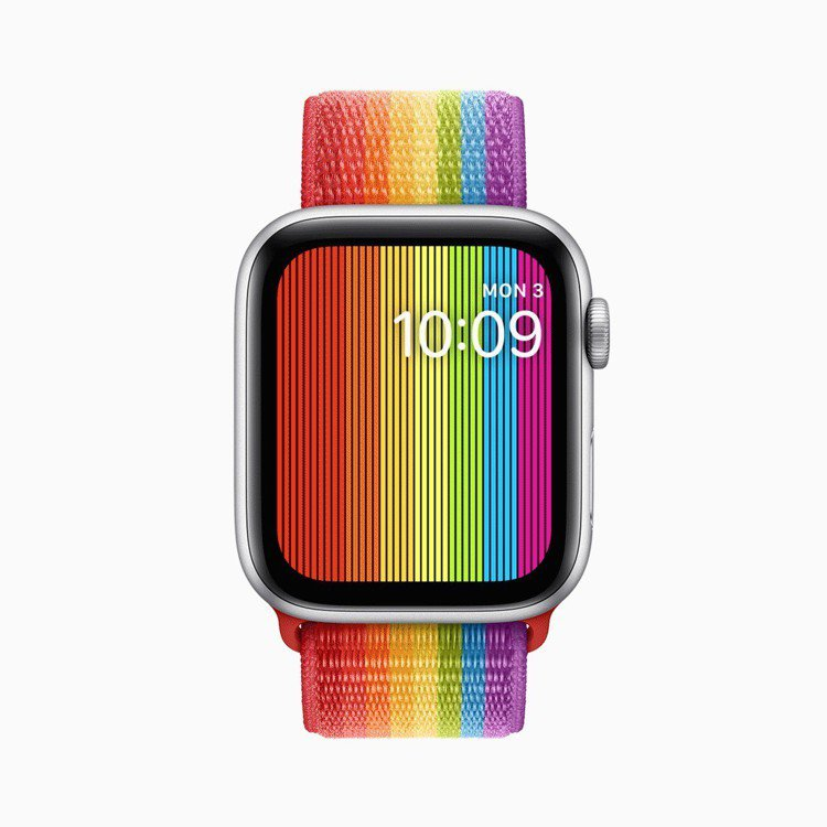 蘋果夏季新表帶款式,即日起就能買到。圖/蘋果提供